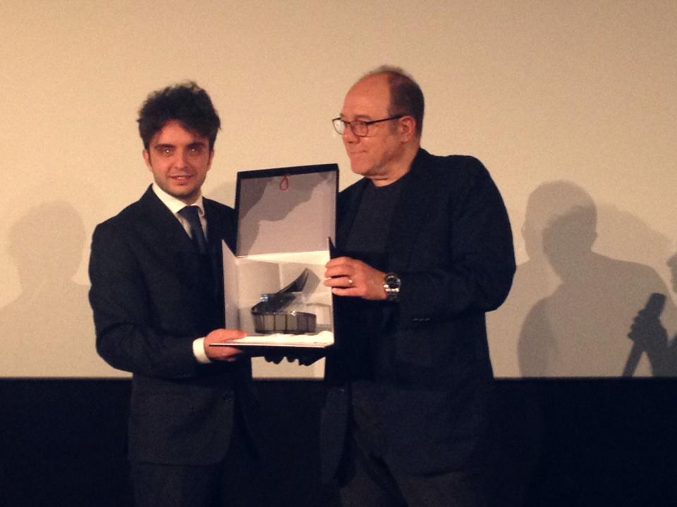 Carlo Verdone premia Fabio Schifilliti 1
